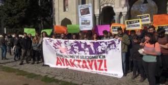 Beyazıt'ta Yök Protestosu