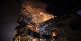 3 Katlı Binada Yangın