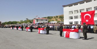 Bitlis Şehitleri Uğurlandı