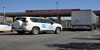 Bm'nin 24 Yardım Tır'ı İdlib'e Gitti