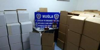Bodrum'da 2 Bin 388 Şişe Kaçak İçki