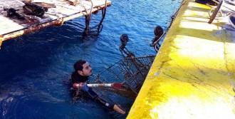 Bodrum'da Denizden Çıkartılan Eşya Şaşırttı