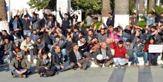 Bodrum'da HDP'lilere Sandallı Tepki