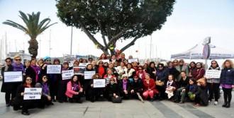 Bodrum'da Kadınlar Yürüdü
