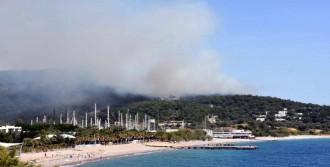 Makilik Alanda Çıkan Yangın Ormana Sıçradı