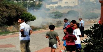 Bodrum'da Çıkan Yangın Korkuttu