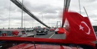 Boğaziçi Köprüsü'nde Konvoy