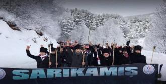Bolu'da - 18 Derece Soğukta Sarıkamış Şehitleri Anıldı