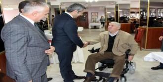 Bolu'da 9 Engelliye Akülü Tekerlekli Sandalye