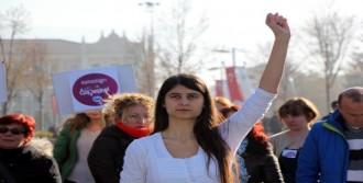 Bolu'da 'Kadına Şiddet' Yürüyüşü