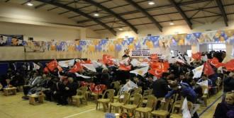 Bolu'da Okul Salonunda Ak Parti Kongresi