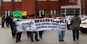 Bolu'da 'Uludere' Protestosu