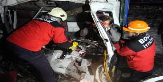 Bolu'da Zincirleme Kaza: 1 Yaralı