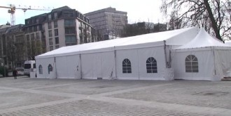 Brüksel'deki PKK Çadırı Boşaltıldı