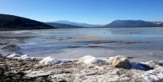 Baraj Göleti Buz Tuttu