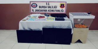 Bursa'da Atölyeye Kumar Baskını