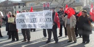 Bursa'da 'sessiz Çığlık' Eylemi