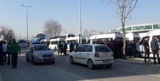 Bursaspor Taraftarı Yola Çıktı