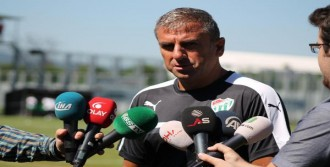 Hamzaoğlu:'Gitmek İsteyeni Tutmayız'