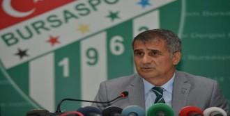 Bursaspor'da Şenol Güneş'in İlk Değerlendirmesi