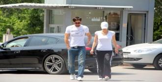 Futbolcular Yazıcı'yı Ziyaret Ettiler