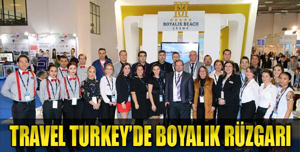 Travel Turkey'de Boyalık Beach'e Büyük İlgi