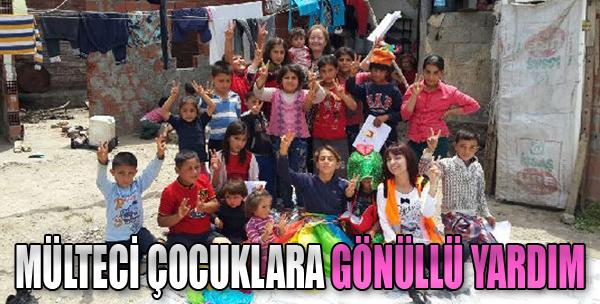Mülteci Çocuklara Gönüllü Yardım