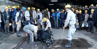 Maden Ocağında Kurban Kesildi