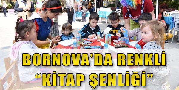Bornova'da Renkli 'Kitap Şenliği'