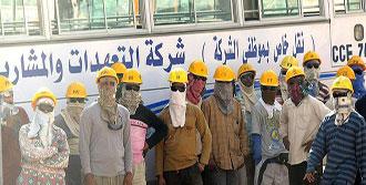S.Arabistan'da İşçi İsyanı