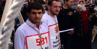 Erzurum'da Mısır'daki İdam Kararı Protesto Edildi