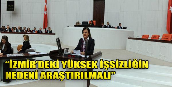 'İzmir'deki Yüksek İşsizliğin Nedeni Araştırılmalı'