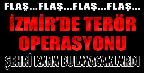 İzmir'de Eylem İçin Keşif Yapan 2 DAEŞ'li Yakalandı