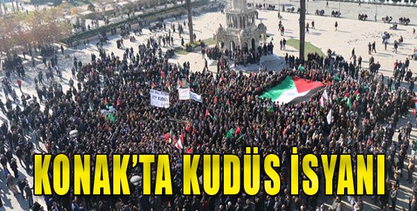 İzmir'de Dev Kudüs Eylemi