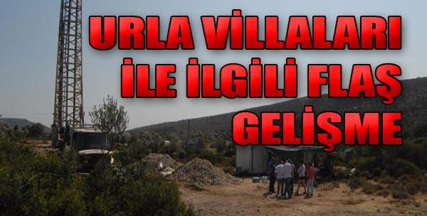 Urla Villaları İle İlgili Yeni Gelişme