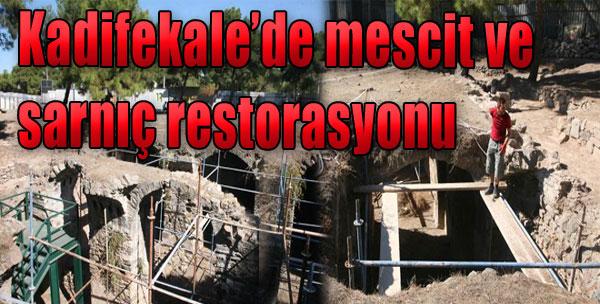 Kadifekale'de Mescit ve Sarnıç Restorasyonu