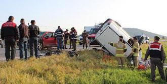 Foça'da Kaza: 1 Ölü