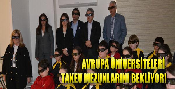 Avrupa Yurtdışı Eğitim Fuarı TAKEV'de...