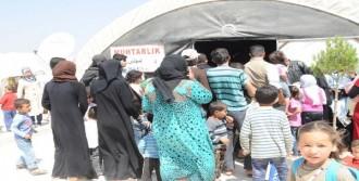 Çadır Kentte Aşı Kampanyası