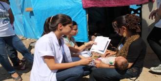 Suriyeliler'e Sağlık Taraması