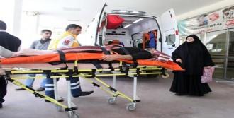 Çalıştığı İnşaattan Düşen İşçi Yaralandı
