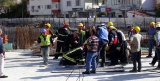 İnşaat İş Kazası: 1 İşçi Yaralandı