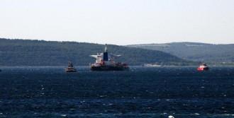 Çanakkale Boğazı'nda Gemide Makine Arızası