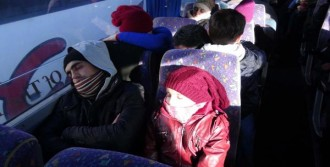 Çanakkale'de 246 Sığınmacı Yakalandı