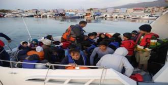 Çanakkale'de 35 Kaçak Yakalandı
