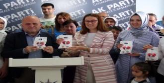 Çanakkale'de AK Parti'den 'Hayırlı Olsun' Lokumu