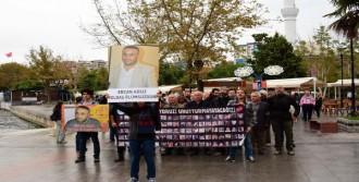 Çanakkale'de Ercan Adsız Anıldı