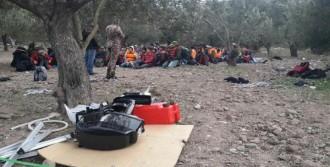 Çanakkale'de Kaçak Göçmen Yakalandı
