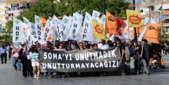 Çanakkale'de Soma Yürüyüşü