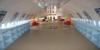 Çankırı'da 'Uçak Kütüphane'